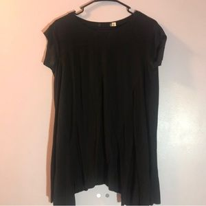 Black Urban Outfitters Babydoll Dress
